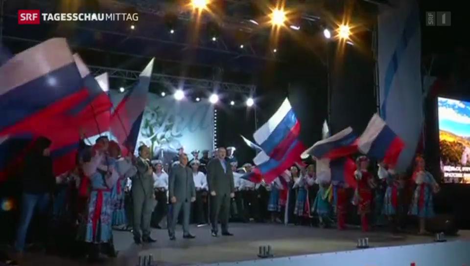 Klares Ja zur Abspaltung der Krim