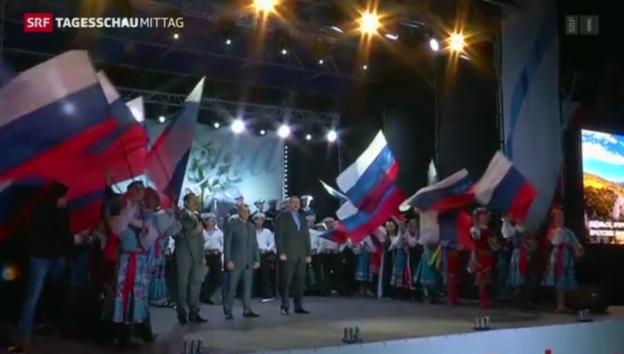 Video «Klares Ja zur Abspaltung der Krim» abspielen