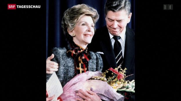 Video «Nancy Reagan ist tot» abspielen