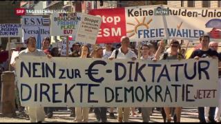 Video «Bundesverfassungsgericht billigt den Krisenkurs der EZB » abspielen