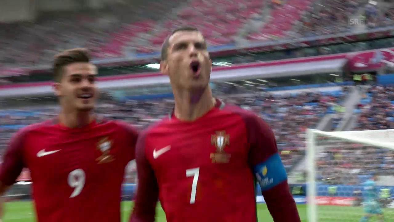 Portugal - Neuseeland: Die Tore