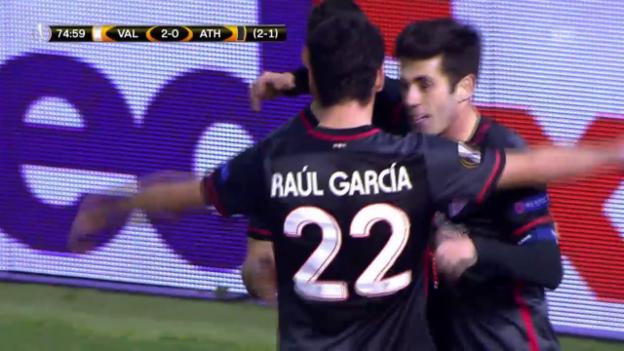 Video «Valencia siegt und scheidet aus» abspielen