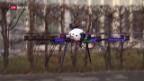 Video «Kampf gegen mögliche Terror-Drohnen» abspielen