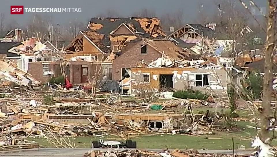 Tornados wüten über den USA