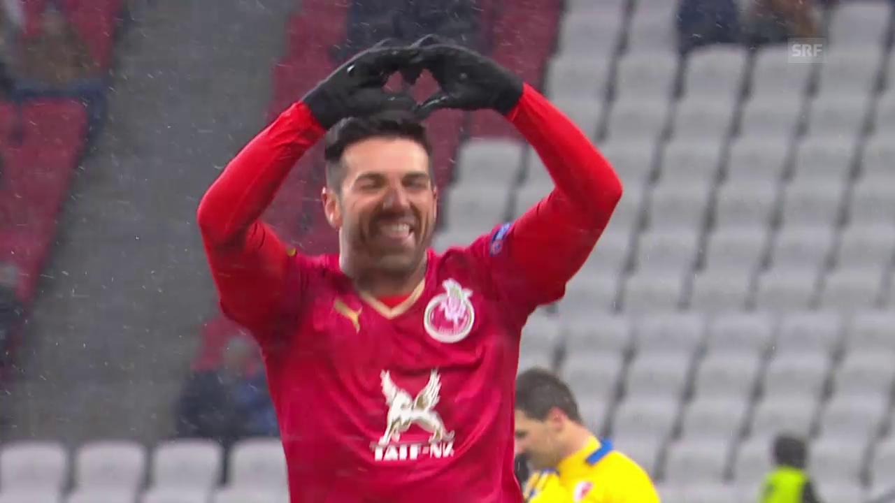 Fussball, Europaleague, Kasan-Sion, Live-Highlights