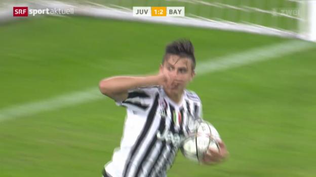 Video «Bayern München verspielt 2:0-Vorsprung bei Juventus» abspielen
