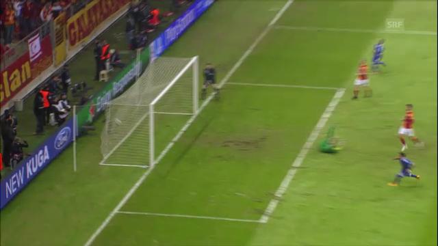 Höhepunkte Galatasaray - Schalke