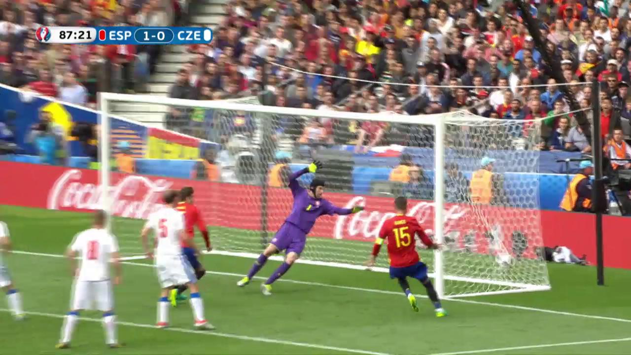 Die Live-Highlights bei Spanien - Tschechien