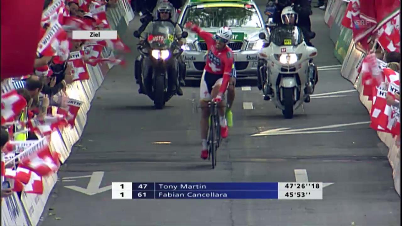 Der bislang letzte Schweizer Sieger der Tour de Suisse