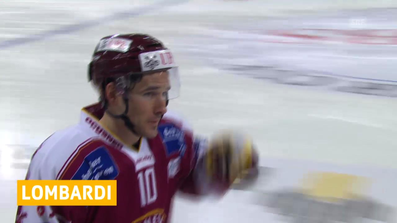 Eishockey: Matthew Lombardi verlängert in Genf («sportaktuell», 29.01.2014)