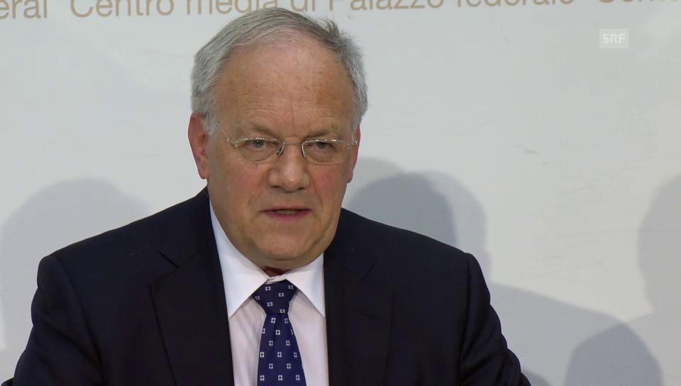 Johann Schneider-Ammann: «Bundesrat verstärkt flankierende Massnahmen»