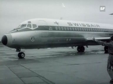Video «Premiere für die neue Douglas DC-9» abspielen