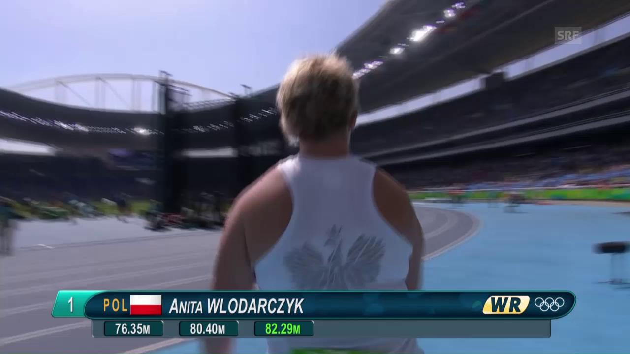 Hammerwerferin Wlodarczyk überbietet eigenen Weltrekord