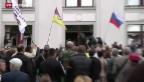 Video «Pro-russische Separatisten bauen ihre Machtstellung aus» abspielen