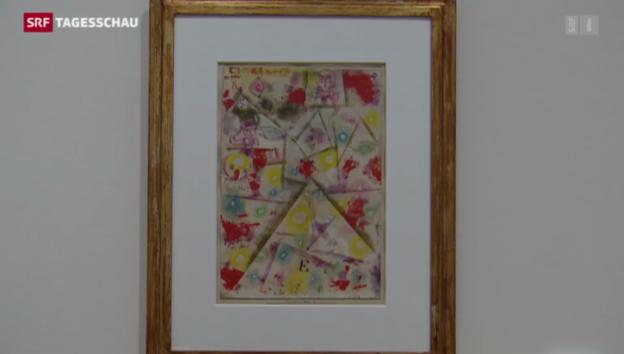 Video «Paul Klee und seine «Sonderklasse – unverkäuflich»» abspielen