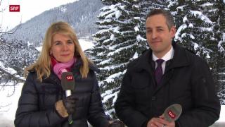 Video «WEF in Davos beginnt» abspielen