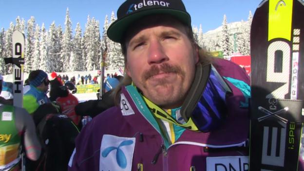 Video «Ski: SG Lake Louise, Interview mit Kjetil Jansrud» abspielen