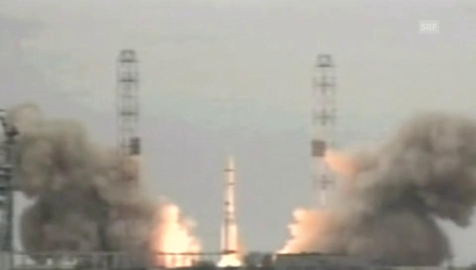 Start zur Mars-Mission