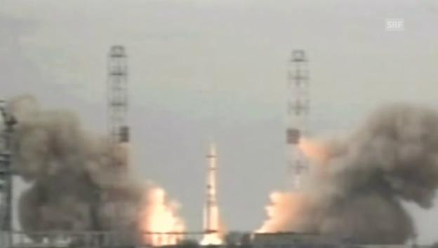 Video «Start zur Mars-Mission» abspielen
