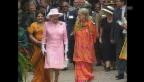 Video «Die britische Königin besucht Indien (unkomm.)» abspielen