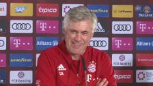 Video «Ancelotti: «Will nicht, dass die Profis zu viel Playstation spielen»» abspielen