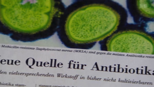 Video «Neue Antibiotika in Sicht?» abspielen