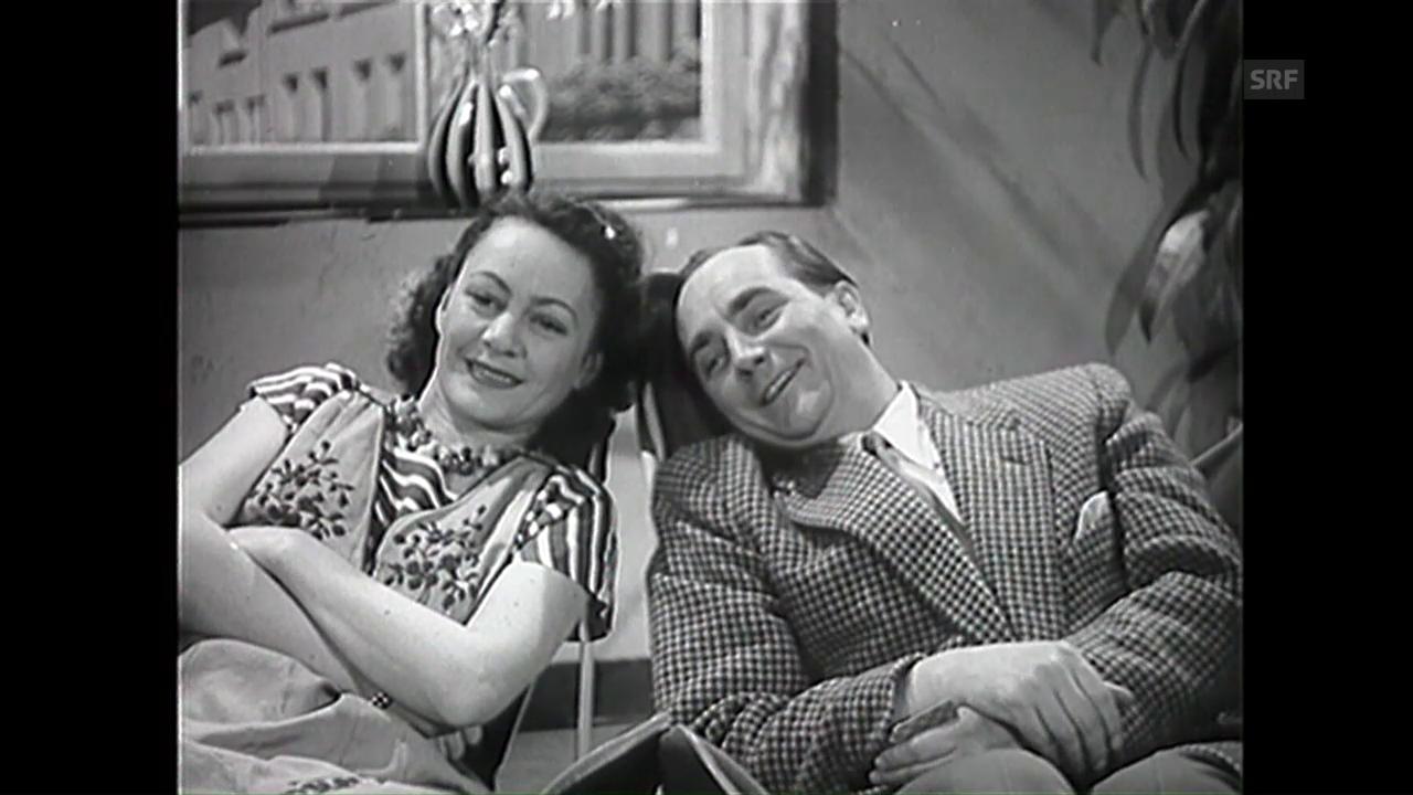 Der Basler Fernseh-Versuchsbetrieb (18.5.1952)