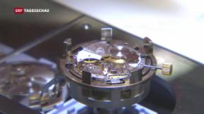 Video «Exportindustrie wächst – Uhrenexporte sinken weiter» abspielen