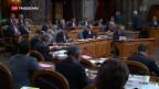 Video «Ständerat: Steuerabzug von Bussen verworfen» abspielen