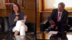 Video «FOKUS: SP und FDP kämpfen um den zweiten Platz» abspielen