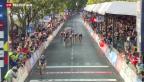 Video «Cancellara ohne Medaille in Florenz» abspielen