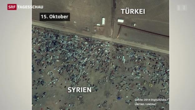 Video «Kobane – die zerstörte Grenzstadt» abspielen