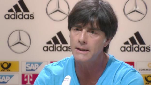 Video «Fussball: FIFA WM 2014, Deutschland vor dem WM-Auftakt» abspielen