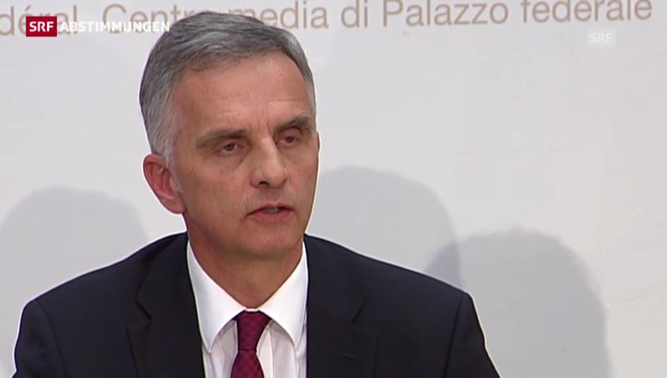Burkhalter: «Wir müssen mit der EU eine neue Basis finden»