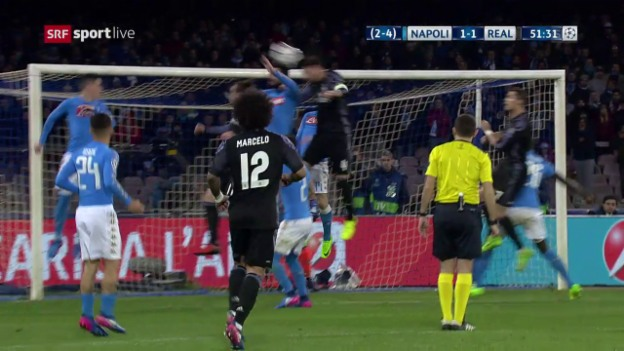 Video «Live-Highlights Napoli - Real Madrid» abspielen