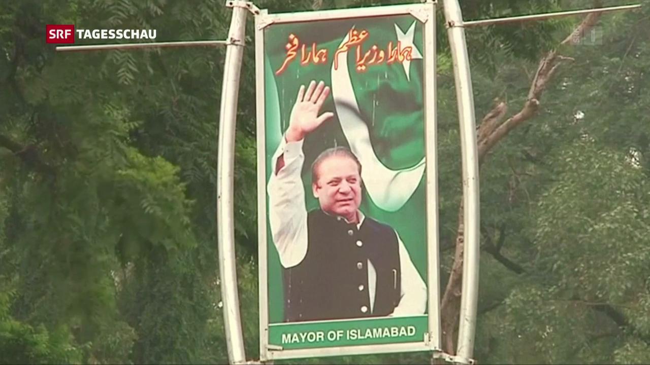 Absetzung von Nawaz Sharif in Pakistan
