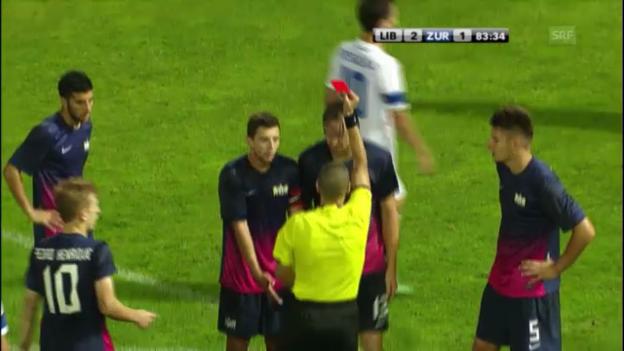 Video «Fussball: EL-Quali, Slovan Liberec - FC Zürich» abspielen