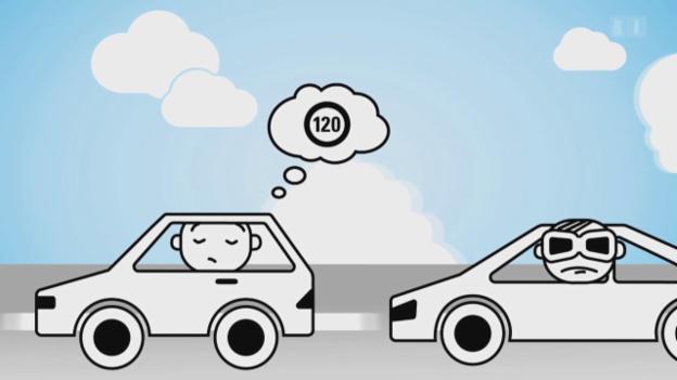 Video ««Darf man das?»: Mit 120 die Überholspur blockieren» abspielen