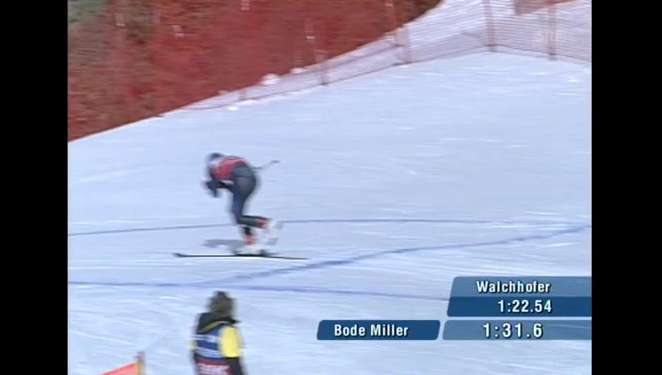 Bode Miller verliert seinen Ski