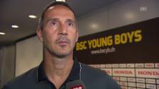 Video «YB-Coach Adi Hütter vor dem Rückspiel gegen Donezk» abspielen