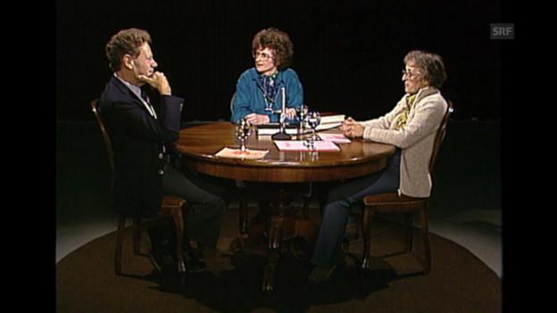 Video ««Neujahrsgespräch 1983»: Elisabeth Kübler-Ross und Hans Küng, Teil 1» abspielen