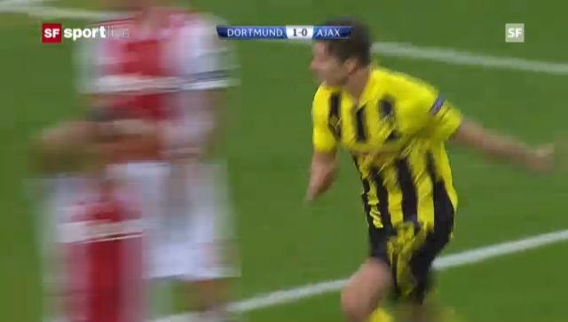 Highlights: Borussia Dortmund - Ajax Amsterdam