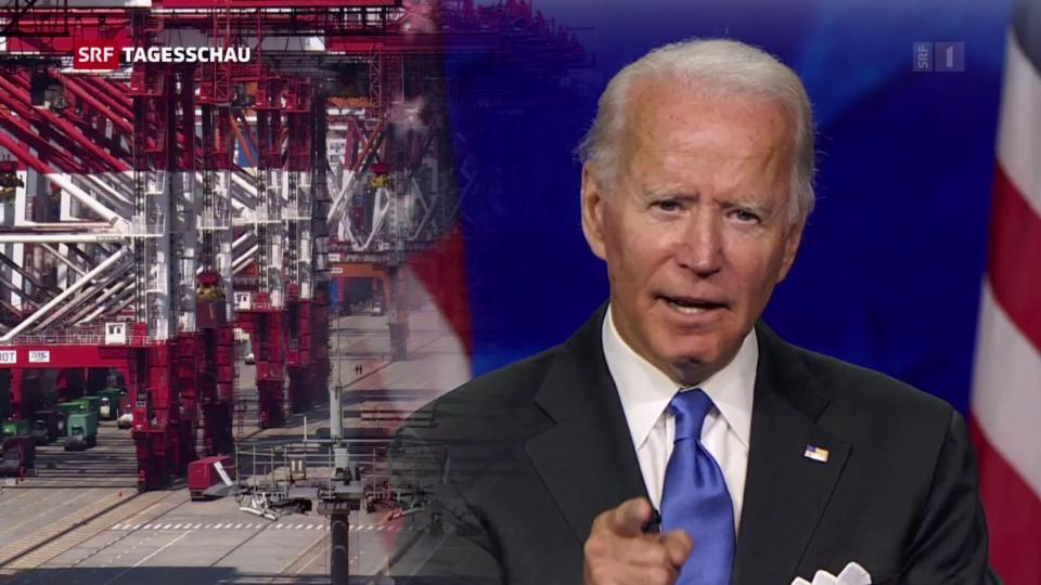 Archiv: Biden äusserte sich kurz nach seiner Wahl zu China