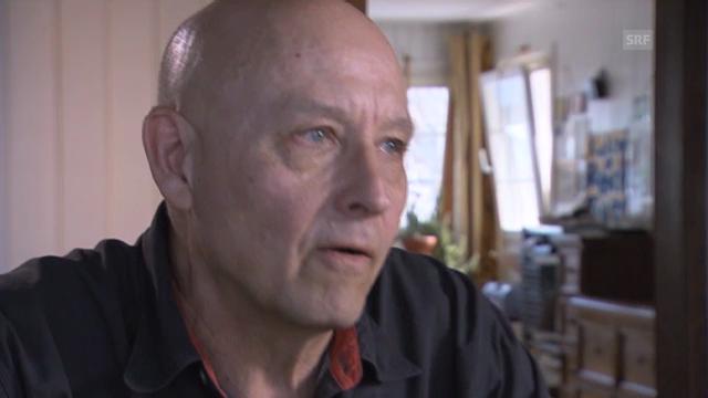 Peter Liechtis Verunsicherung während des Filmens