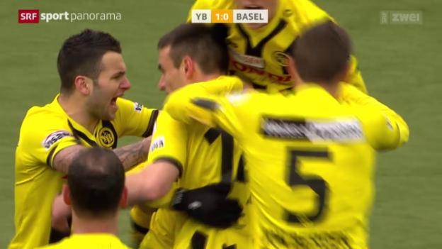Video «Fussball: Super League, YB - Basel» abspielen