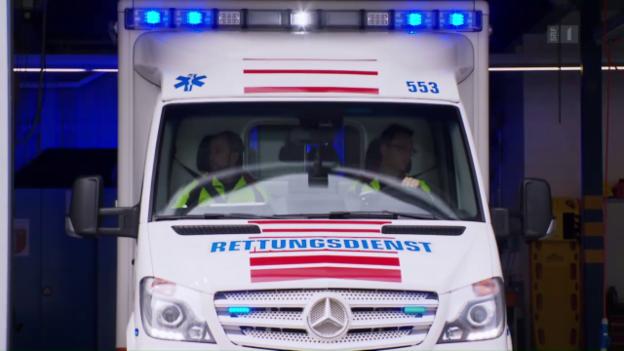 Video «144 - Rettung in erster Sekunde» abspielen