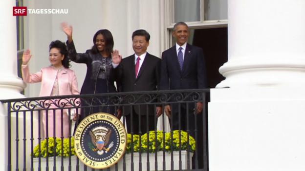 Video «Chinas Präsident Xi auf Besuch in den USA» abspielen