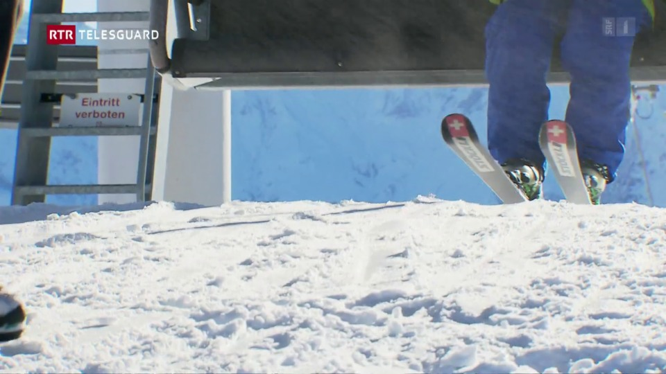 Tranter sperar e temair: Visita en il territori da skis Mundaun