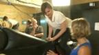 Video «Der Ritt auf dem Galoppsimulator» abspielen