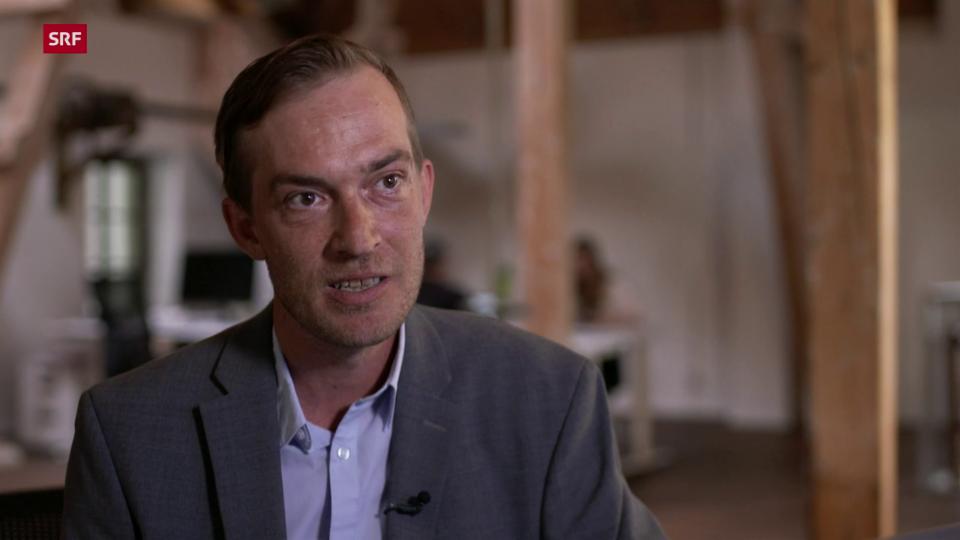 Tobias Bolliger, Teamleiter AVA-X: «Eine Technologie kann nicht böse oder schlecht sein. Es kommt darauf an, wie man sie einsetzt.»